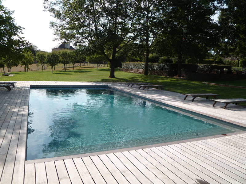 Amenagement piscine composite les meilleures ides de la for Piscine hors sol composite gris